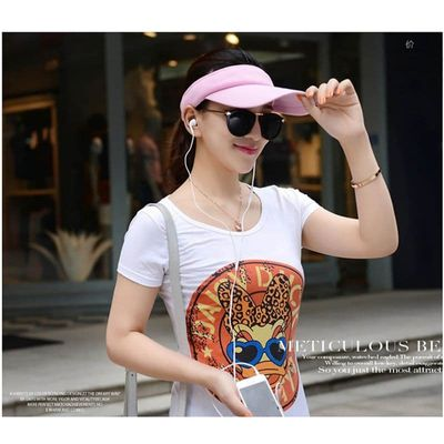 Unisex Summer Golf Tennis Hats Women Men Sports Wide Brim Beach Visor Tennis cap