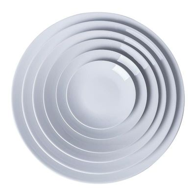 Ceramic plate glazed temperament ceramic art teaching white porcelain plate disc glaze color painting tableware