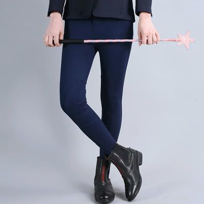 Flexible Horse Riding Pants Paardensport Equestrian Breeches Horse Riding Clothes For Children Comfortable Wear-resisting