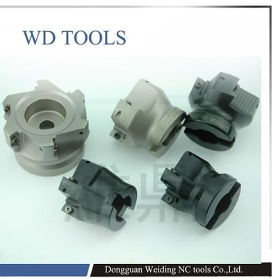 TAP 300R 40-16-4T 90 Degree High Positive Face Mill Cutting Diameter For APMT1135 inserts