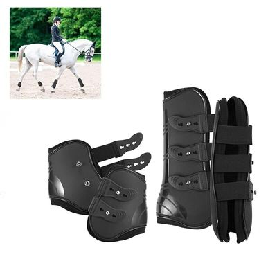 Horse Leg Protect Boot Soft Elastic Strap Open Front Leg Protection Guard Excellent Durable Outdoor Horse Racing Horse Leg Cover