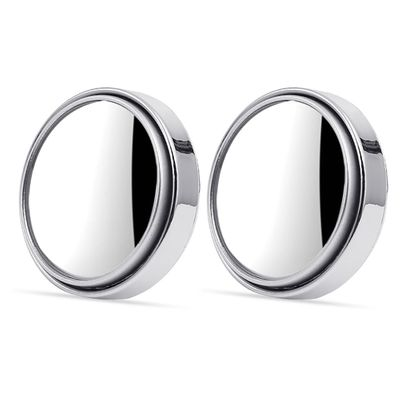 2pcs/set 360 Degree Universal Blind Spot Mirror For Car HOT Sale Frameless Ultrathin Wide Angle Round Convex Rear View Mirror