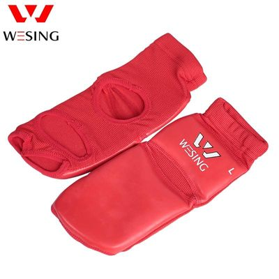 Wesing Sanda Wushu Instep Guard Muay thai Ankle Protective Boxeo Takawondo Training Foot Support Large Size MMA