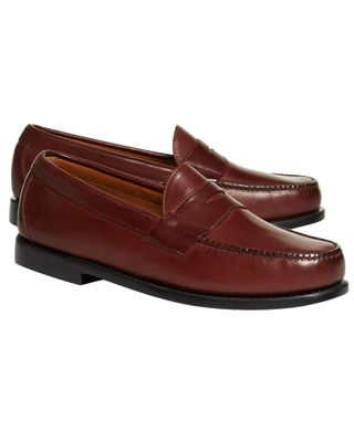 Brooks Brothers Classic Leather Penny Loafer