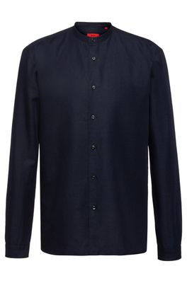 HUGO BOSS - Relaxed Fit Shirt With Garment Washed Finish