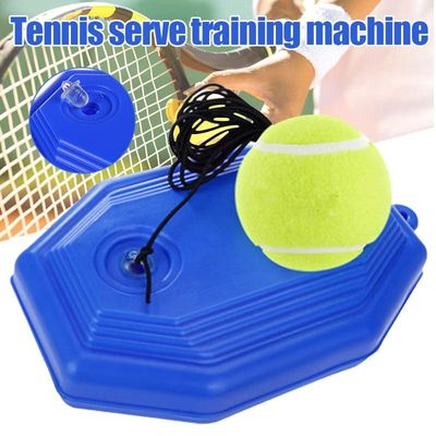 Tennis Training Aids Ball With elastic Rope Base Tennis Trainer Self-study Baseboard Player Practice Tool Tennis Supplies