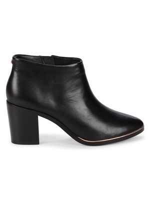 Ted Baker London Leather Heeled Booties