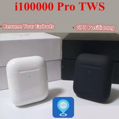 i100000 Pro TWS 1:1 Aire 2  Rename+GPS positioning wireless Bluetooth earphone smart sensor pk i90000 pro i100000 TWS
