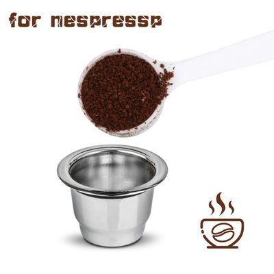 Nespresso Stainless Steel Refillable Coffee Capsule Coffee Filter Reusable Coffee Pod Business Birthday Coffeeware Gift