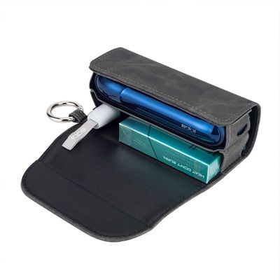 Fashion Flip Double Book Cover for 3.0 Case Pouch Bag Holder Cover Wallet Leather Case for iqos 3