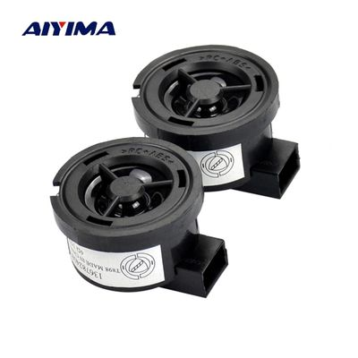 AIYIMA 2PCS 1 inch 4 ohm 15W Car tweeter Treble Audio Speaker Loudspeaker with Capacitance for Ford Mazda Nissan