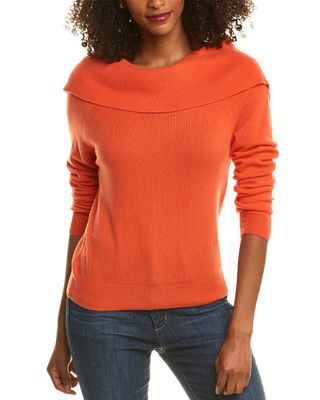 THE CASHMERE PROJECT Off-The-Shoulder Cashmere Sweater
