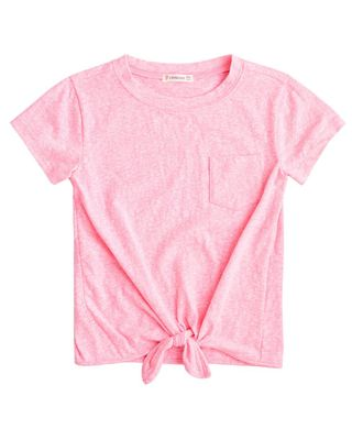 crewcuts by J.Crew Tie-Front T-Shirt