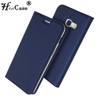 For Samsung A5 2017 Case Soft PU Stand Book Cover Card Slot Wallet Leather Flip Case For Samsung Galaxy A3 A5 A7 2017 Phone Case
