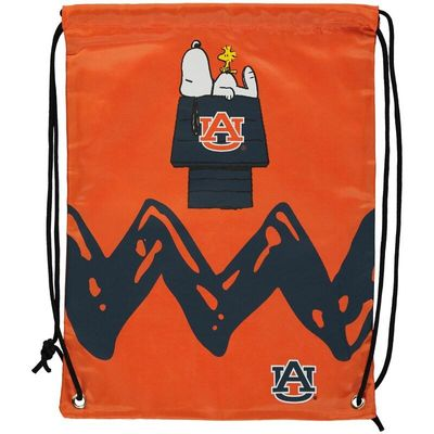 Auburn Tigers Peanuts Zigzag Drawstring Backpack