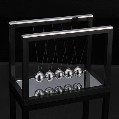 2020 New Newtons Cradle Steel Balance Ball Fun Decoration Physics Science Toy Gift