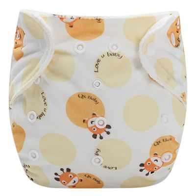 Baby Infant kid Training Pants Reusable adjustable Diaper Washable Nappies
