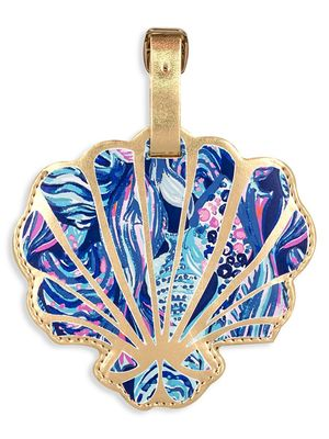 Lilly Pulitzer Clam Shell Luggage Tag
