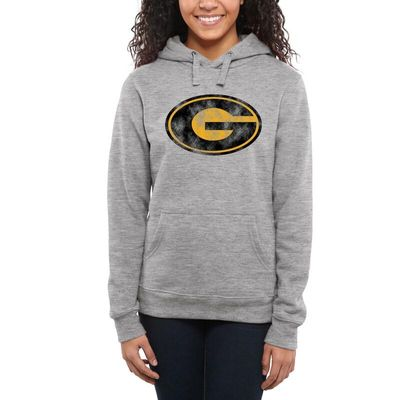 Grambling Tigers Women's Classic Primary Pullover Hoodie - Ash -