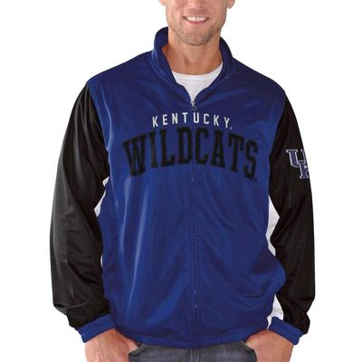 Kentucky Wildcats G-III Sports by Carl Banks Wild Card Track Jacket - Royal