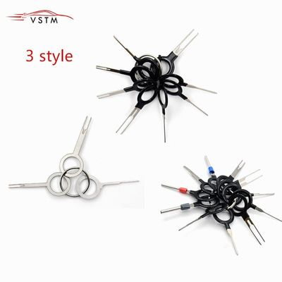 New Remove Tool Set 3/8/11pcs Auto Car Plug Circuit Board Wire Harness Terminal Extraction Pick Connector Crimp Pin Back Needle