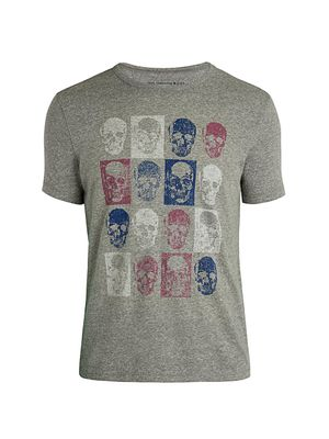 John Varvatos Star U.S.A. Skull Box T-Shirt