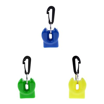 1 Pcs Professional Silicone Scuba Diving Dive Mouthpiece Octopus Holder Retainer Keeper Clip for 2nd Stage Regulator Underwater