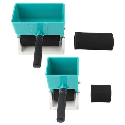 180mL/320mL Paint Buckets Portable Handheld Glue Applicator Roller Manual Gluer for Woodworking Paiting Tool