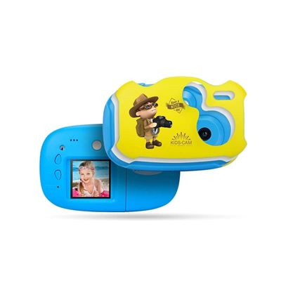 Digital HD Children's 1.7-Inch Camera Child Digital Camera Mini DIY Camera Cartoon Camera