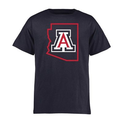 Arizona Wildcats Youth Tradition State T-Shirt - Navy