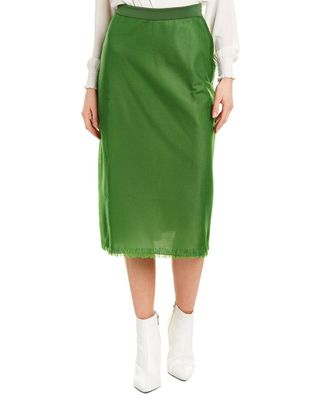 ESCADA Silk-Trim Skirt