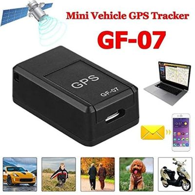 Mini GF-07 Vehicle GPS Tracker For Car Child Location Trackers Locator Systems SOS Tracking Device Mini Permanent Motorcycle GPS
