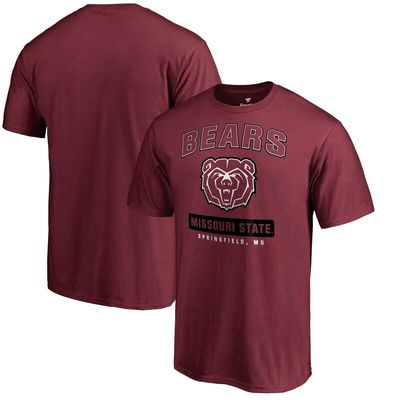 Missouri State University Bears Big & Tall Campus Icon T-Shirt - Scarlet