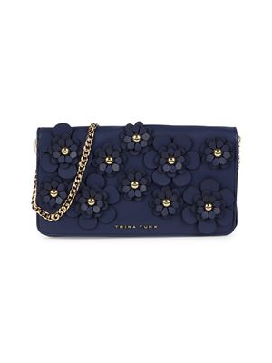 Trina Turk Faux Leather Convertible Clutch