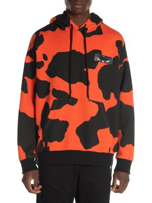 Marcelo Burlon Wing Patch Camouflage Print Hoodie