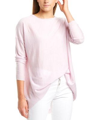 Forte Cashmere High-Low Cashmere Pullover