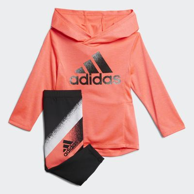 Adidas Mel Hooded Top-tight Set