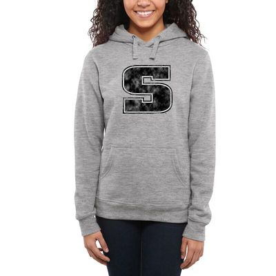 Slippery Rock Pride Women's Classic Primary Pullover Hoodie - Ash