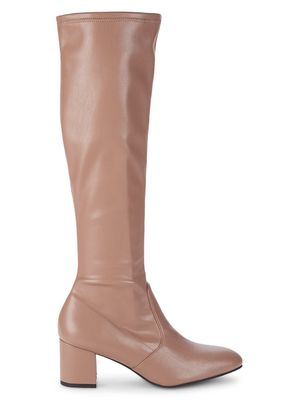 Stuart Weitzman Frannie Leather Knee-High Boots