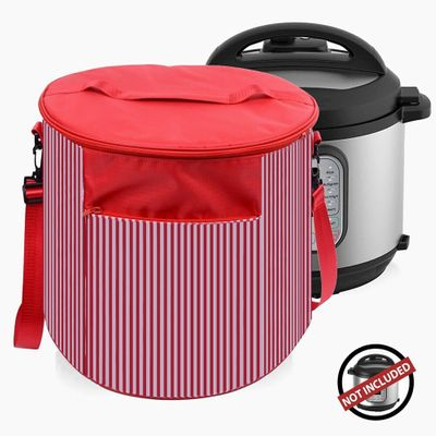 2020 Creative Pressure Cooker Cover For 6 Quart Instant Pot Appliance Dust Cover Travel Carrying Bag With Pocket For Accessories
