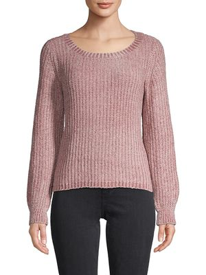 BB Dakota Ribbed Pullover Sweater