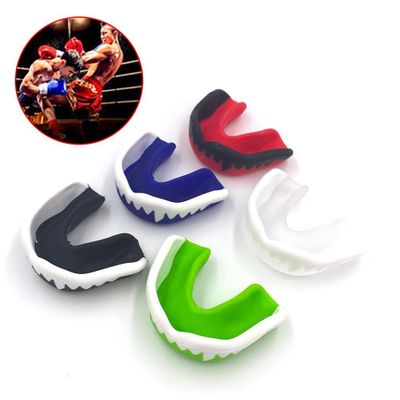 With Box Protector Tooth Mouthguards Sports Boxing Mouthguards Mouthguard Boxing Shoulder Pads Rugby Ball Boxing