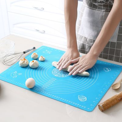 Silicone Baking Mat Thickening Flour Rolling Scale Mat Kneading Dough Pad Baking Pastry Rolling Mat Bakeware Liners