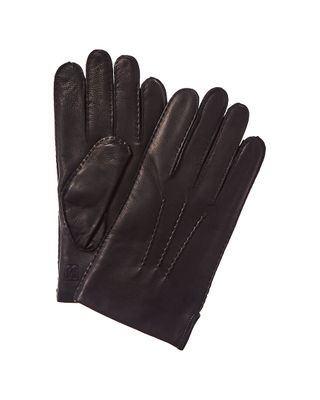 Bruno Magli Cashmere-Lined Hand-Stitched Leather Glove