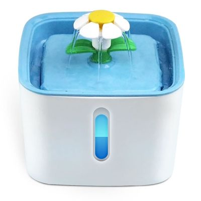 Cute Automatic Pet Cat Water Fountain LED Electric USB Dog Cat Pet Mute Drinker Feeder Bowl 2.5L Pet Drinking Fountain Dispenser