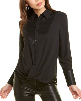 Gracia Collared Blouse