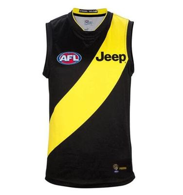 2019 AFL RICHMOND TIGERS HOME JERSEY size S-3XL