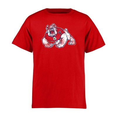 Fresno State Bulldogs Youth Classic Primary T-Shirt - Red