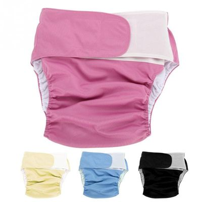 Reusable Teen Diaper Large Adult Cloth Diaper Washable Adjustable Adult Old Bedwetting incontinence Diaper Nappy Pants Underwear