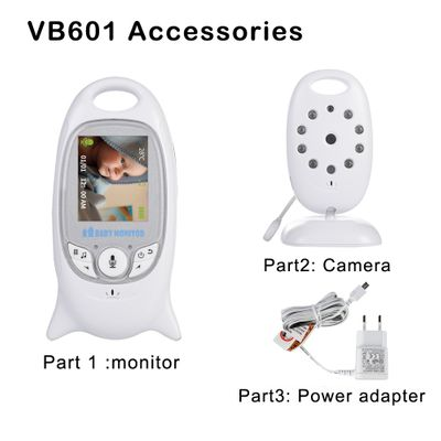 VB601 Baby Monitor Accessories,2.0 Inch LCD Screen Baby Monitor Camera Holder Power Adapter Cable for VB601,Wireless 2.4Ghz